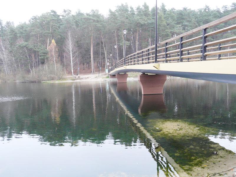 Zdjęcie mostku po remoncie